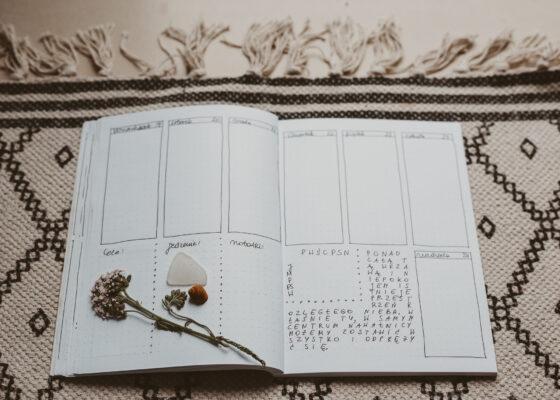 HOP 006 Bullet journal, czyli minimalistyczny system planowania i organizacji